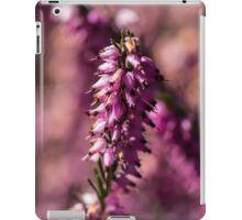 Macro Heather Plant iPad Case/Skin