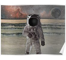 Astronaut Space Mission Poster