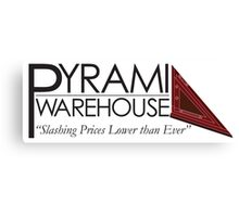 Pyramid Warehouse Canvas Print