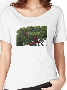 Macaws in Flight Women's Relaxed Fit T-Shirt