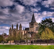 Rochester Cathedral by brianfuller75