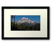 Mt. Rainier in Washington Framed Print