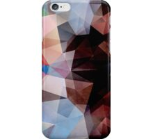 Abstract Vintage Triangles iPhone Case/Skin