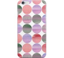 Abstract pink pattern iPhone Case/Skin