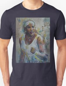 Serena Williams - Portrait 5 Unisex T-Shirt