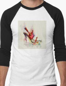 ladies shoe  Men's Baseball ¾ T-Shirt