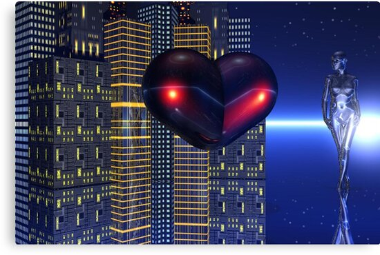 Ain't No Love In The Heart Of The City by Tanya Newman