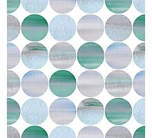 Abstract blue pattern Photographic Print