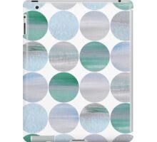 Abstract blue pattern iPad Case/Skin