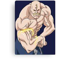 fullmetal alchemist alex louis armstrong anime manga shirt Canvas Print