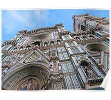 Firenze,Duomo e Torre di Giotto(giotto tower)-Italy Poster