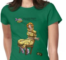 April in Distress Womens Fitted T-Shirt