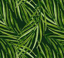 Tropical leaf pattern by JuliaBadeeva