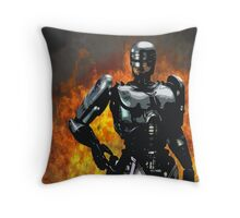 Classic '1987' inc explosion Throw Pillow