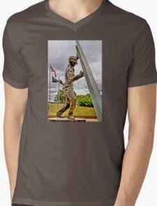 Steel Workers Memorial Mens V-Neck T-Shirt