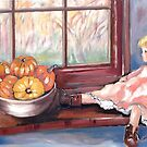 Autumn through the Window by Marie Theron