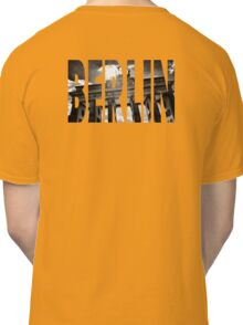 BERLIN Letter Germany Classic T-Shirt