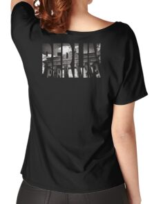 BERLIN Letter Germany Women's Relaxed Fit T-Shirt