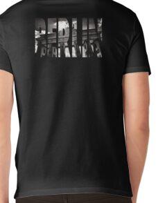 BERLIN Letter Germany Mens V-Neck T-Shirt
