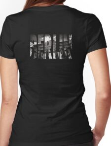 BERLIN Letter Germany Womens Fitted T-Shirt