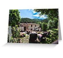 Tuscany Retreat Greeting Card