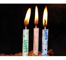 Birthday Wishes Photographic Print