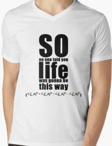 Friends Theme - Simple Typography Collection Mens V-Neck T-Shirt