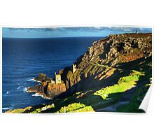 Crown Tin Mines of Botallack Poster