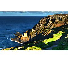 Crown Tin Mines of Botallack Photographic Print