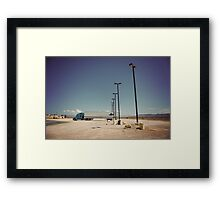 8000 miles USA : On the road 3 Framed Print