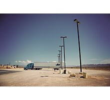 8000 miles USA : On the road 3 Photographic Print