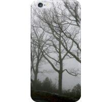Fog in the Trees iPhone Case/Skin