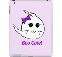 """Boo Cute!"" Chibi Halloween iPad Case/Skin"