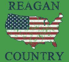 Retro 80s Reagan Country One Piece - Short Sleeve