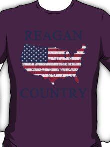 Retro 80s Reagan Country T-Shirt