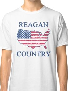 Retro 80s Reagan Country Classic T-Shirt