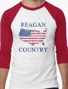 Retro 80s Reagan Country Men's Baseball ¾ T-Shirt