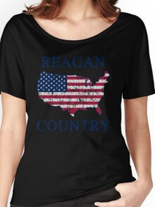 Retro 80s Reagan Country Women's Relaxed Fit T-Shirt