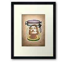 STAR IN A JAR Framed Print