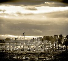 Hingham Harbor by Peter Maeck