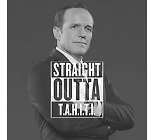 STRAIGHT OUTTA T.A.H.I.T.I. Photographic Print