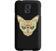 Calavera Cat Samsung Galaxy Case/Skin