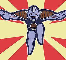 Machoke of the Ginyu Force by zerojigoku