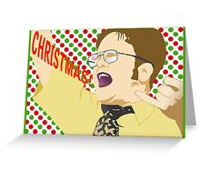 Dwight - Christmas Greeting Card