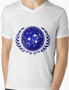 United Federation of Planets Logo Mens V-Neck T-Shirt