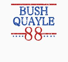 Retro Bush Quayle 88 Election Unisex T-Shirt