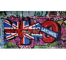 South Bank Graffiti Photographic Print