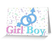 Girl/ Boy Greeting Card