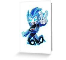 Blurr Greeting Card