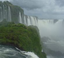 iguazu waterfalls by TRACY WALKER